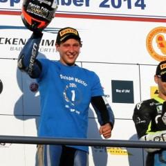 Marvin Fritz dominiert und wird IDM Supersport Meister 2014