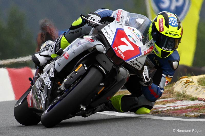 Marvin Fritz - Team Motorrad Bayer - Bikerbox Racing in Schleiz