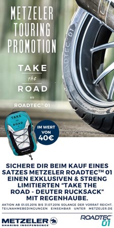 Metzeler Roadtec® Promotion
