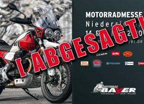 Motorradmesse leider abgesagt!