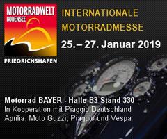 Motorradwelt Bodensee 25.-27. Januar 2019