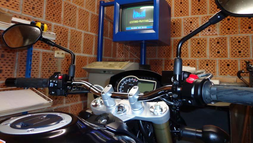 Leistungsprüfstand Motorrad