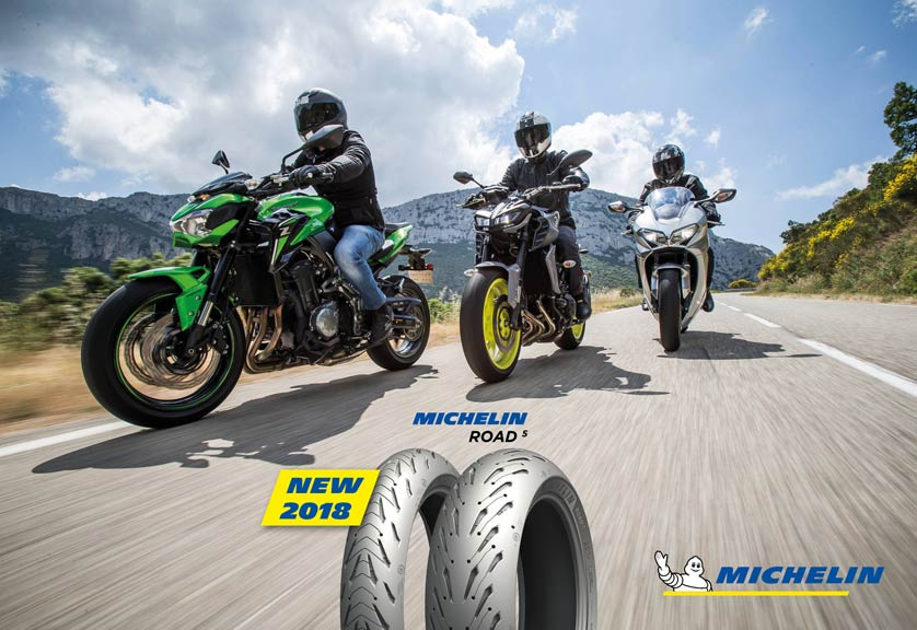 MICHELIN ROAD 5 - NEW 2018