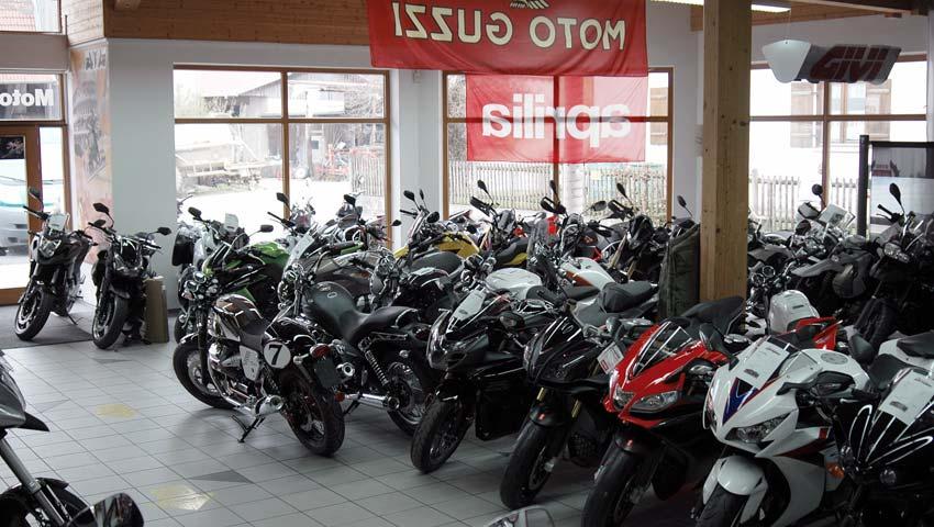 Motorrad Bayer Verkaufsraum (Teilansicht)