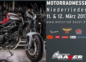 Motorradmesse Niederrieden 11. & 12. März 2017