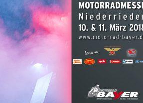 Motorradmesse Niederrieden 10. & 11. März 2018