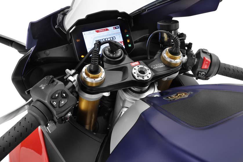 Aprilia RSV4 Factory Modelljahr 2021 Cockpit